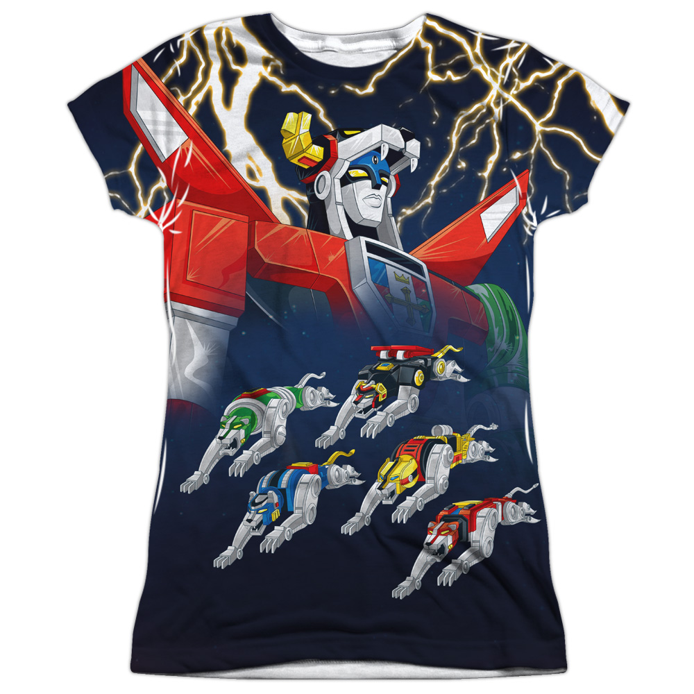 Voltron Boltron Juniors Sublimation Shirt