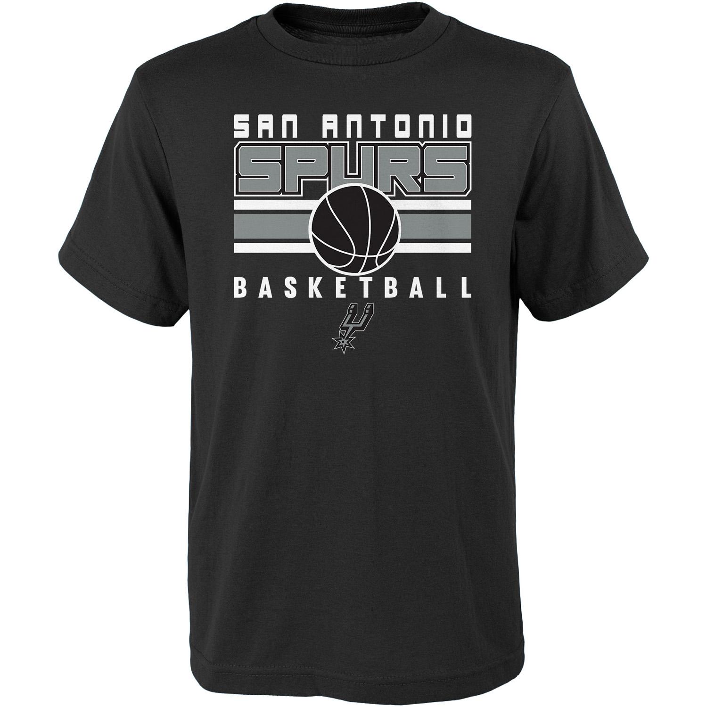 Youth Black San Antonio Spurs Alternate T-Shirt