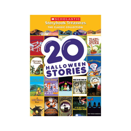 20 Halloween Stories: Scholastic Storybook Treasures Classic Collection (DVD) for $<!---->