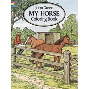 Dover Publications, My Horse Coloring Book