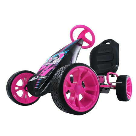 - Hauck Sirocco Ride-On Pedal Go-Kart, Pink