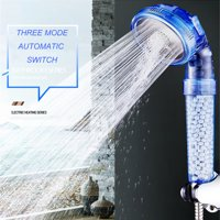Tailored Negative Ionic Filtration Shower Head Three Mode High Pressure Stone