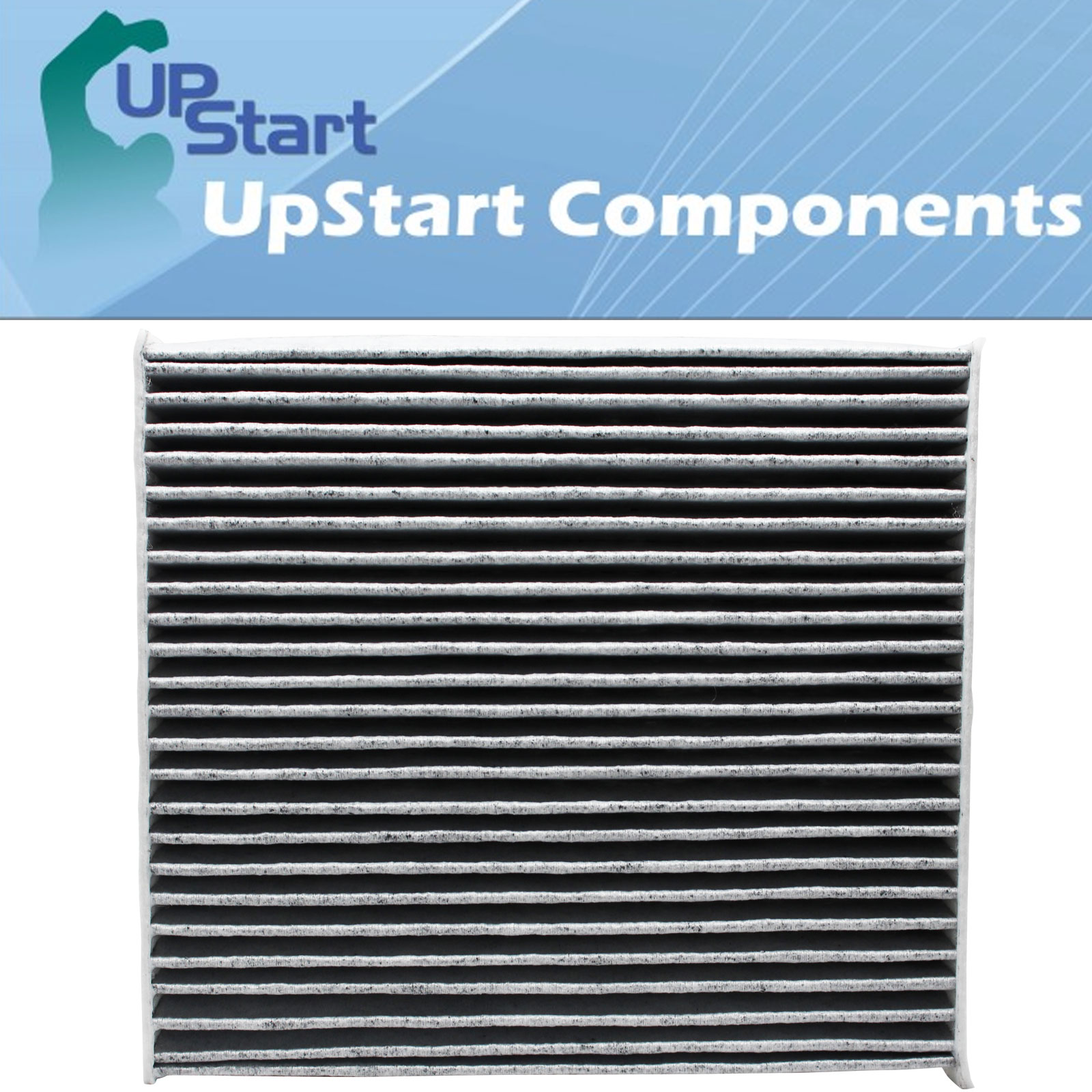 4-Pack Replacement Cabin Air Filter for 2007 Lexus GS 430 V8 4.3L 4293cc Car/Automotive - Activated Carbon, ACF-10285 - image 3 of 4
