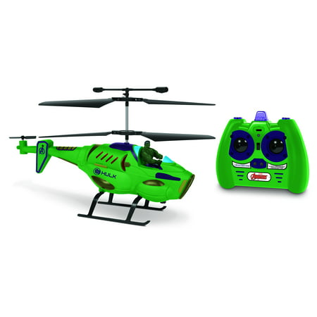 World Tech Toys 33846 3.5-channel Marvel[r] Ir Hero Pilot Helicopter [the Hulk[r]]