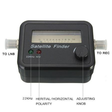 Digital Satellite Signal Dish FTA HD Monitors Signal Strength Meter Finder  Best