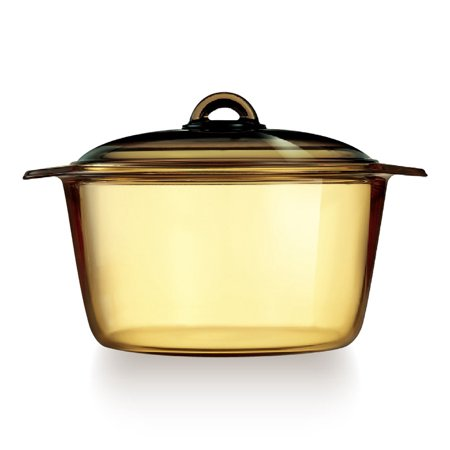 China Glass Casserole (Luminarc France Amberline Blooming Heat-resistant Glass Casserole Cooking Pot)