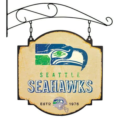 "Seattle Seahawks 16"" x 16"" Tavern Sign - Cream - No Size"