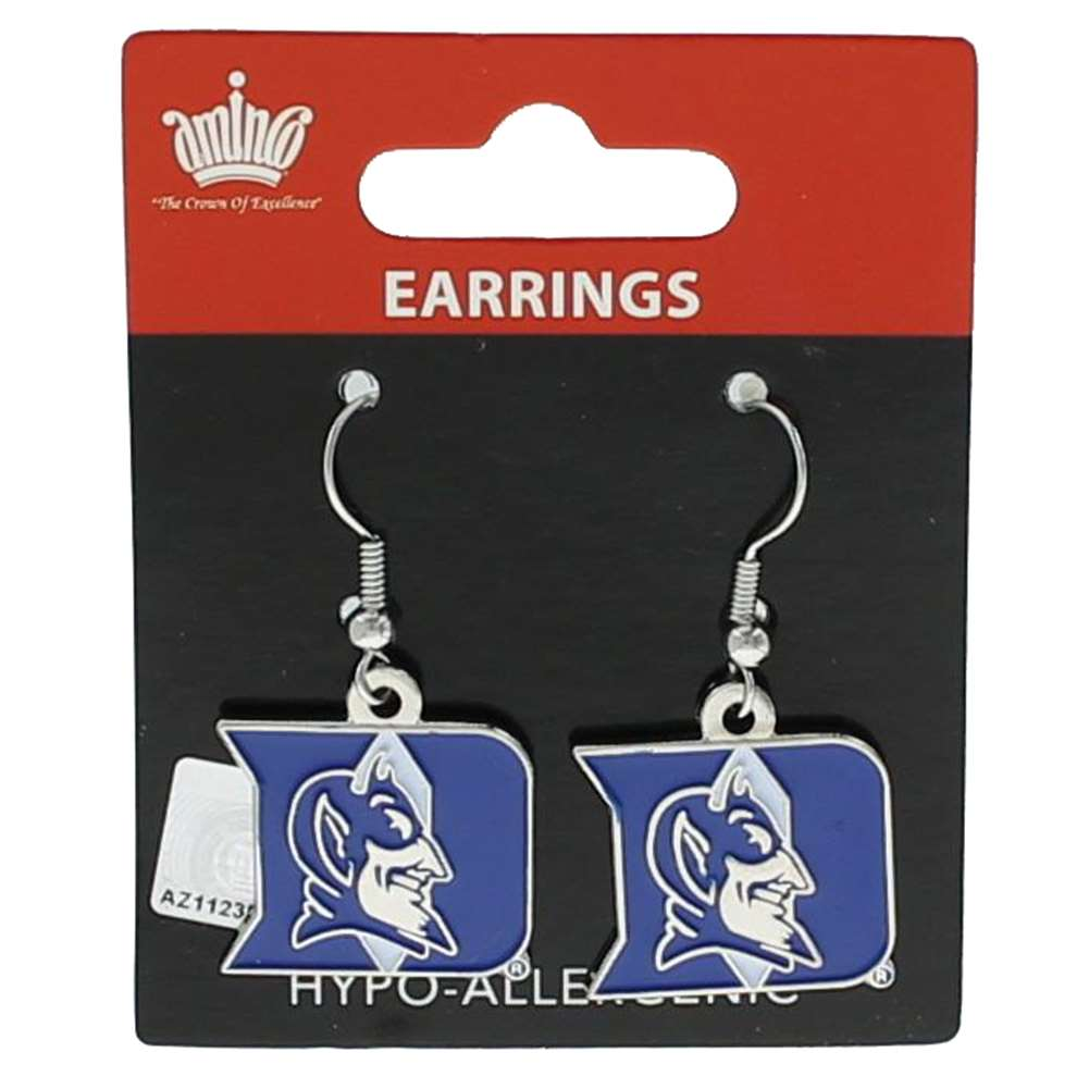 Duke Blue Devils Dangler Earrings