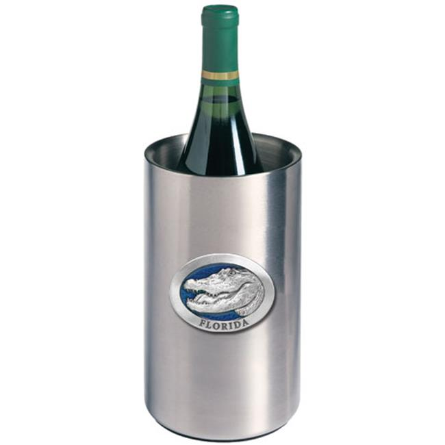 Heritage Metalworks WNC4267EB Alligator with Florida Wine Chiller, Blue by Heritage Metalworks