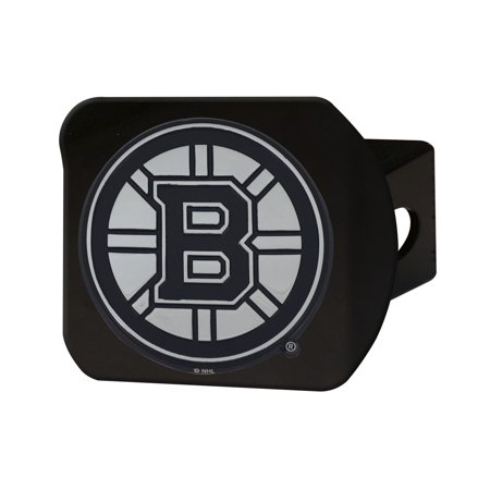 Boston Bruins Black Hitch Cover 4 1/2
