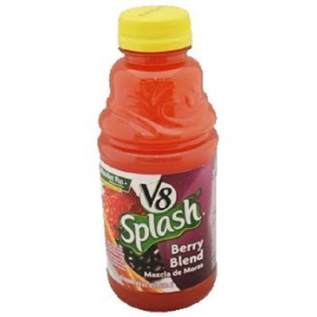 V8 Splash, Berry Blend, 16 Ounce