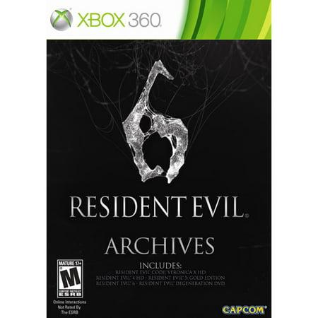 Resident Evil 6 Archives -Xbox 360