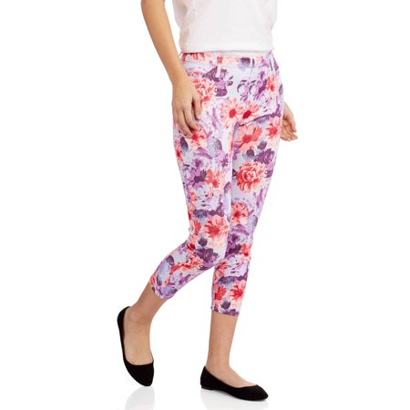 Faded Glory Women's Capri Knit Color Jegging