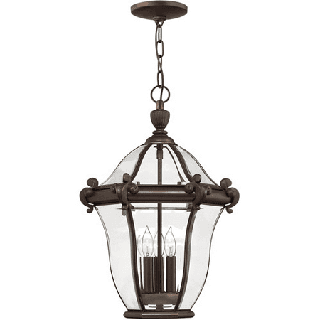 Rla Hinkley RL-88545 Outdoor Pendant Copper Bronze Solid Brass and Aluminum Manchester