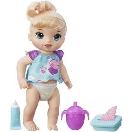 Baby Alive Twinkles N Tinkles Doll Blonde Walmart Com
