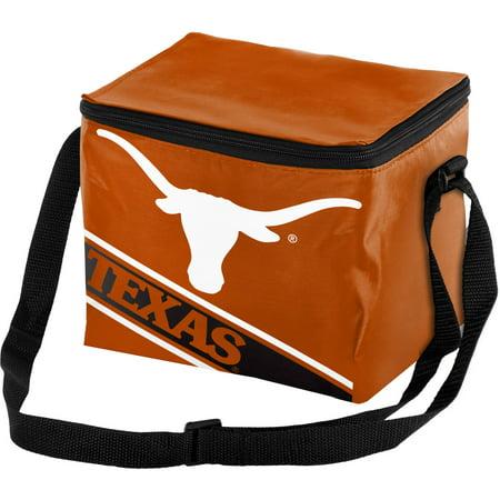 Texas Longhorns String Pack - Forever Collectibles Big Logo Stripe 6 Pack Cooler, University of Texas Longhorns