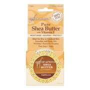 Out Of Africa Shea Butter Tin, Vanilla, 2 Oz