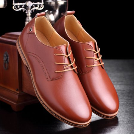 NEW Fashion Men European style Oxfords Leather Shoes Casual Shoes Larger -