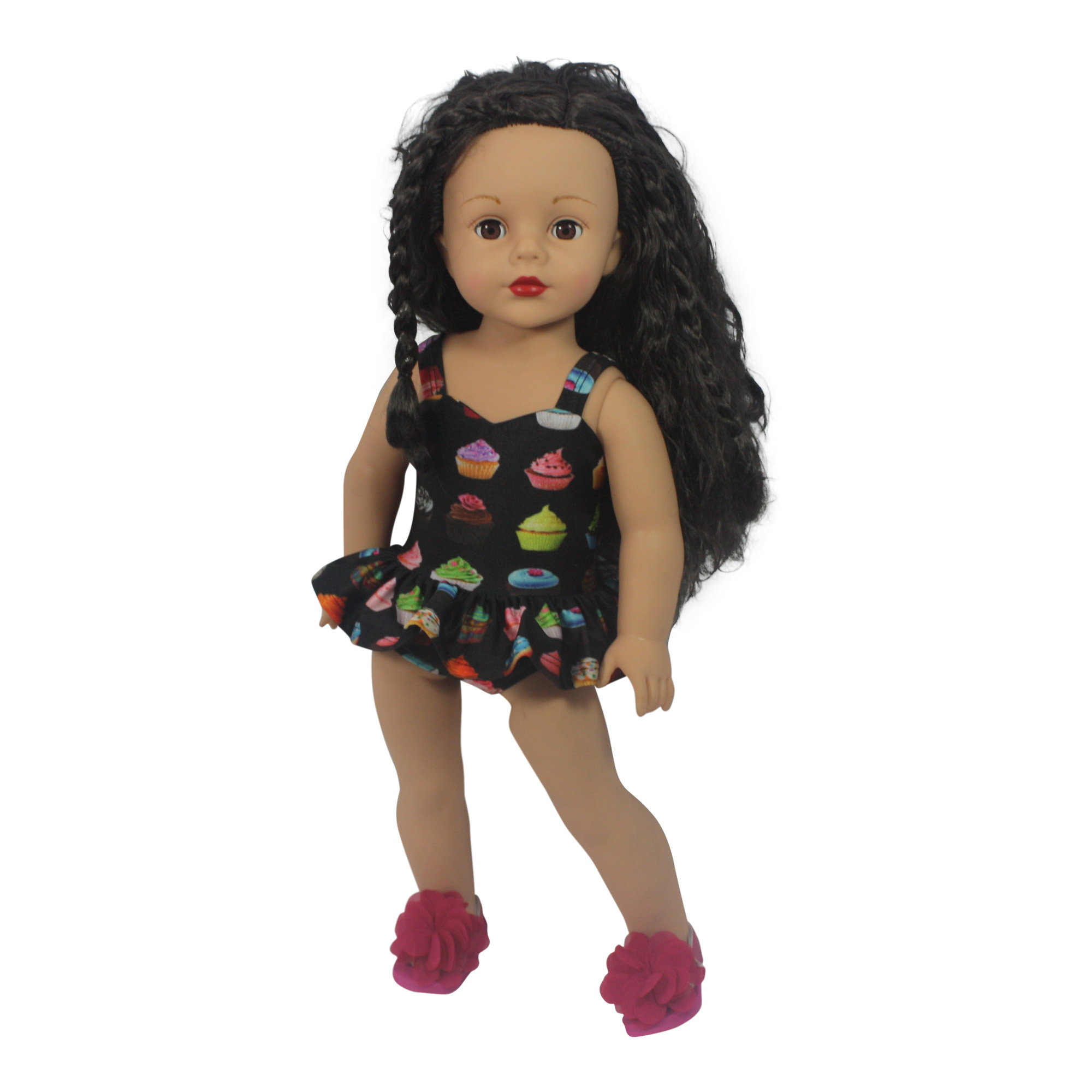 "Ari and Friends Yummy Cupcake Swimsuit Fits 18"" American Girl Dolls and other 18 inch... by Dream Big Wholesale Doll Clothes"