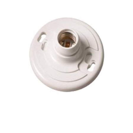 EPCO ENGINEERED PRODUCTS 16524 Phenolic Lamp Holder Keyless, White With - Lamy Lead