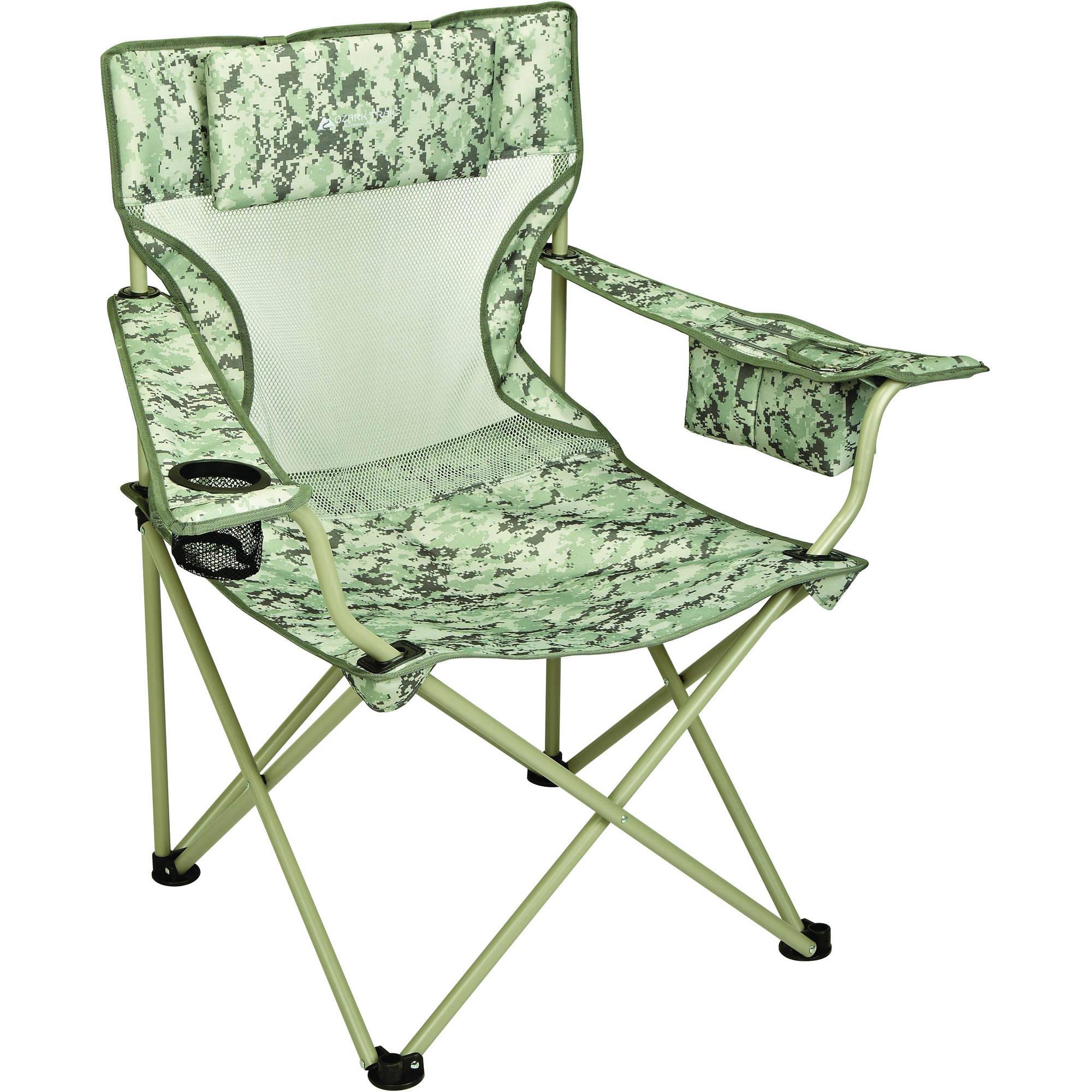 Ozark Trail Defender Digi-Camo Quad Folding Camp Chair