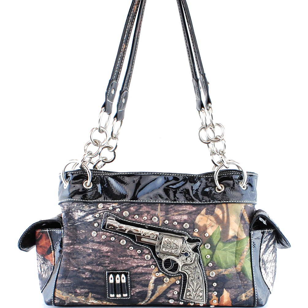 CA2119 Western Camouflage Gun Shoulder Bag
