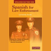 Spanish for Law Enforcement - Audiobook