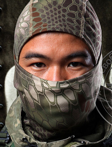 Camouflage Balaclava Full Face Mask Camo Hunting Airsoft Paintball Jungle Camo by