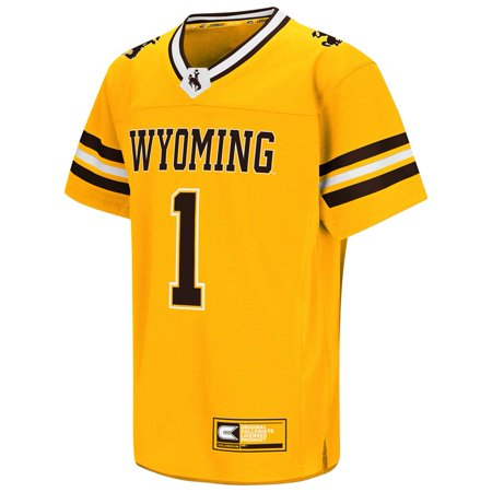 Wyoming Cowboys Youth Colosseum Hail Mary II Football Jersey (Football Cowboys)