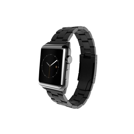 Monowear Stainless Steel Band For Apple Watch 42Mm   Black Matte Dark Gray Adapter