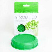 Sprouting Jar Strainer Lid - Fits Wide Mouth Jars - For Growing Sprouts & Other Uses - Sprouter Cap