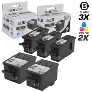 Compatible Replacement for Kodak 30XL / 30 5 Pk HY Cartridges Includes:3 1550532 Black & 2 1341080 Color for use in ESP C110, C310, C315, Office 2150, Office 2170, 3.2, & Hero 3.1, 4.2, & 5.1