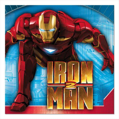 Iron Man 2 Small Napkins (16ct)