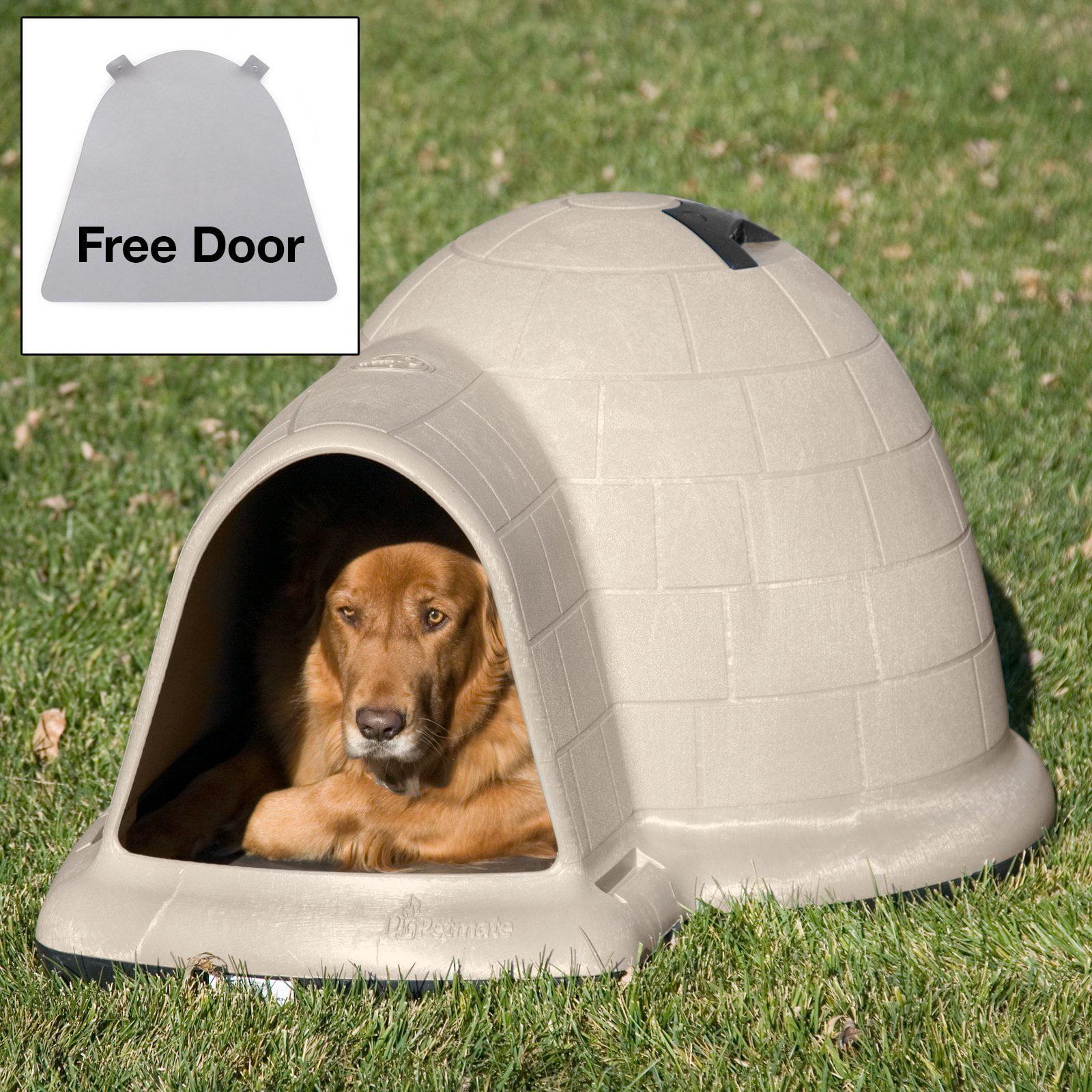 Doskocil Petmate Indigo Dog House with FREE Dog Door