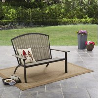 Mainstays Springview Hills Resin Outdoor Adirondack Bench