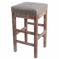 Valencia Square Backless Counter Stool, Multiple Colors
