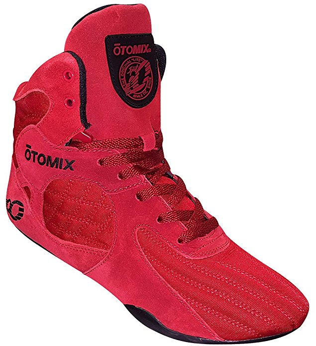 Otomix Red Stingray Escape Weightlifting & Grappling Shoe (Size 7.5)