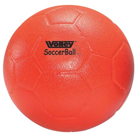 Volley Size 5 SuperSkin-2 Foam Medium/Low Bounce Soccer Ball, Red
