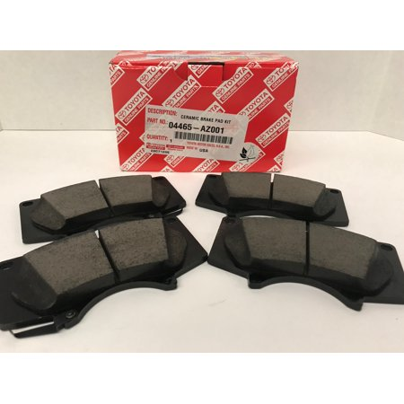Toyota Brake Pads >> Genuine Toyota Front Brake Pads 04465 Az001