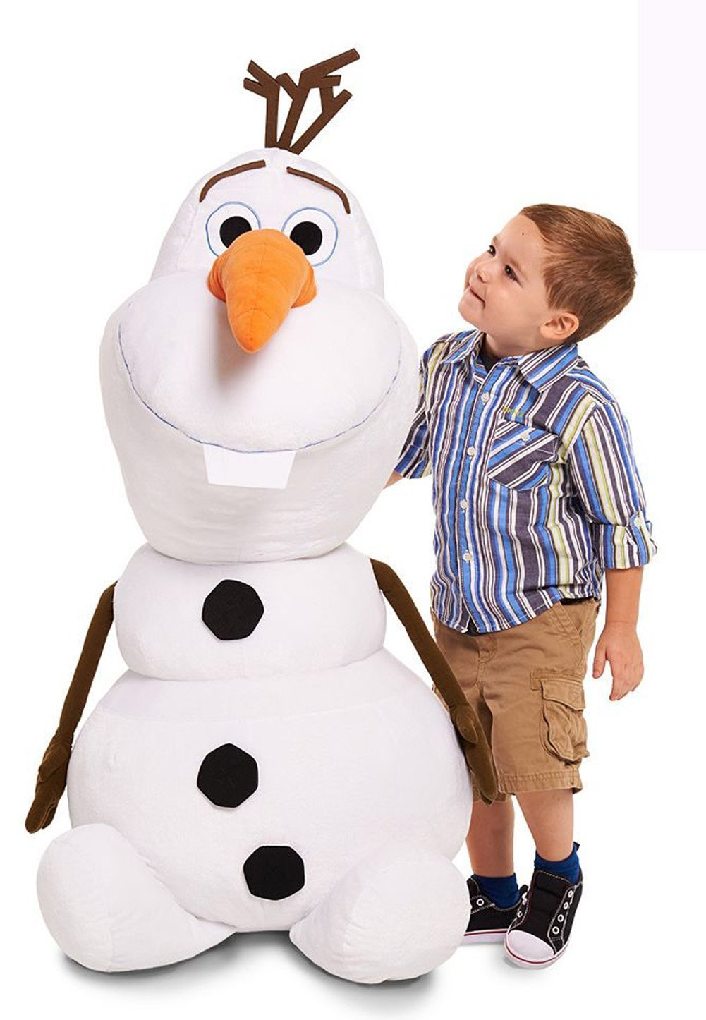 Disney Frozen Olaf Super Jumbo Plush 48 4 Tall Stuffed Snowman