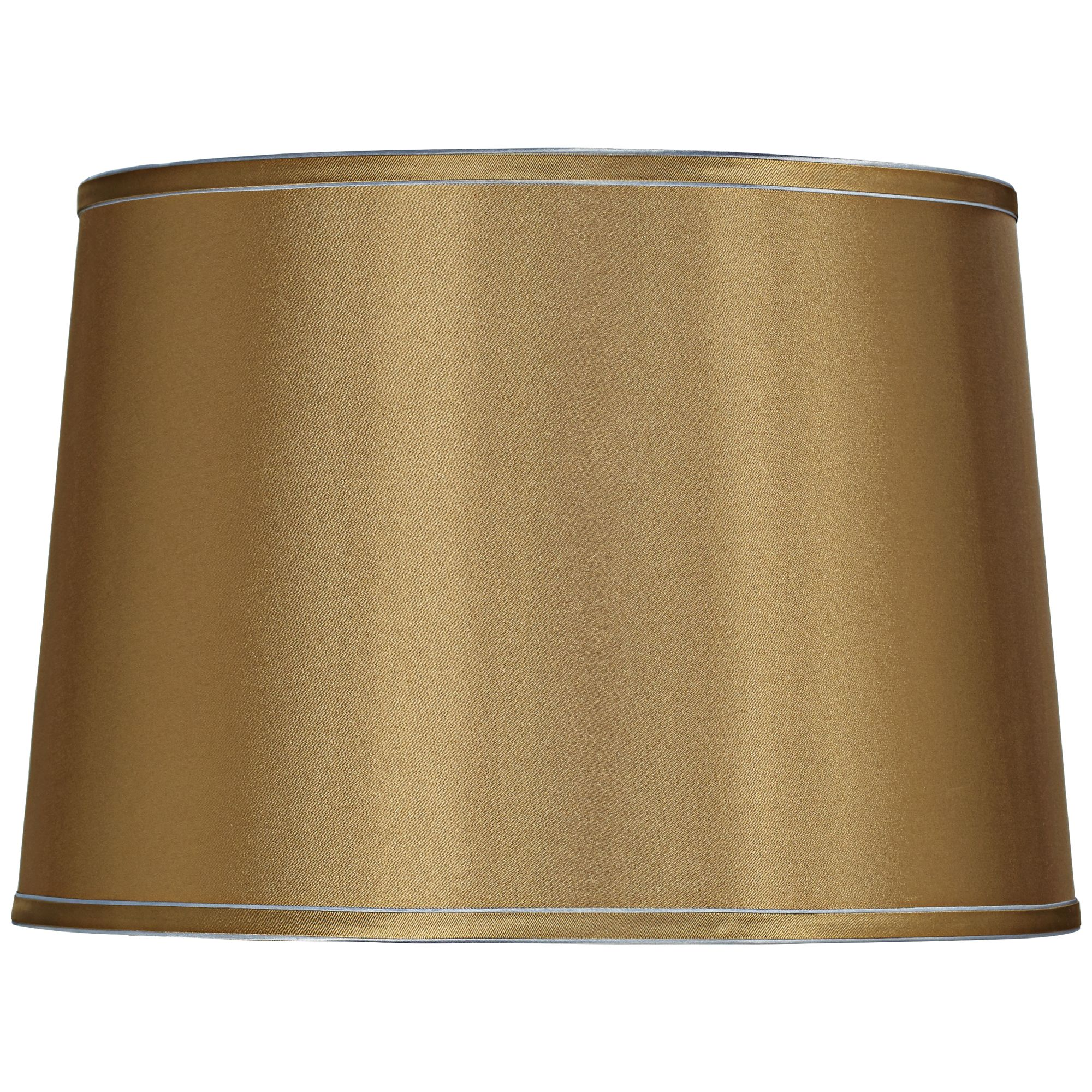 Brentwood Sydnee Gold with Silver Trim Drum Shade 14x16x11 (Spider)