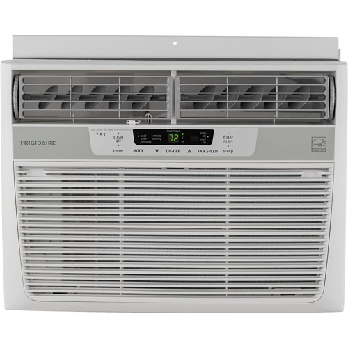 Frigidaire FFRE1033Q1 Energy Efficient 10,000-BTU 115V Window Mounted Compact Air Conditioner with Temperature Sensing Remote Control