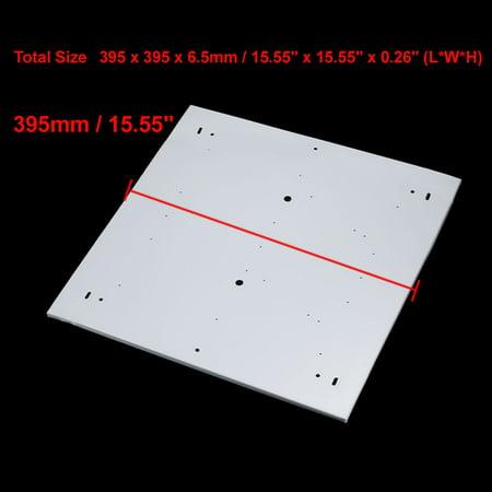 4pcs 395mm x 395mm Pendant Lamp Ceiling Plates Folding Square Type Chassis Disc - image 2 de 4