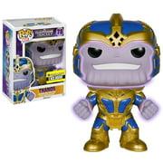 Funko POP! Marvel Thanos Vinyl Bobble Head [Super-Sized, Glow in the Dark]