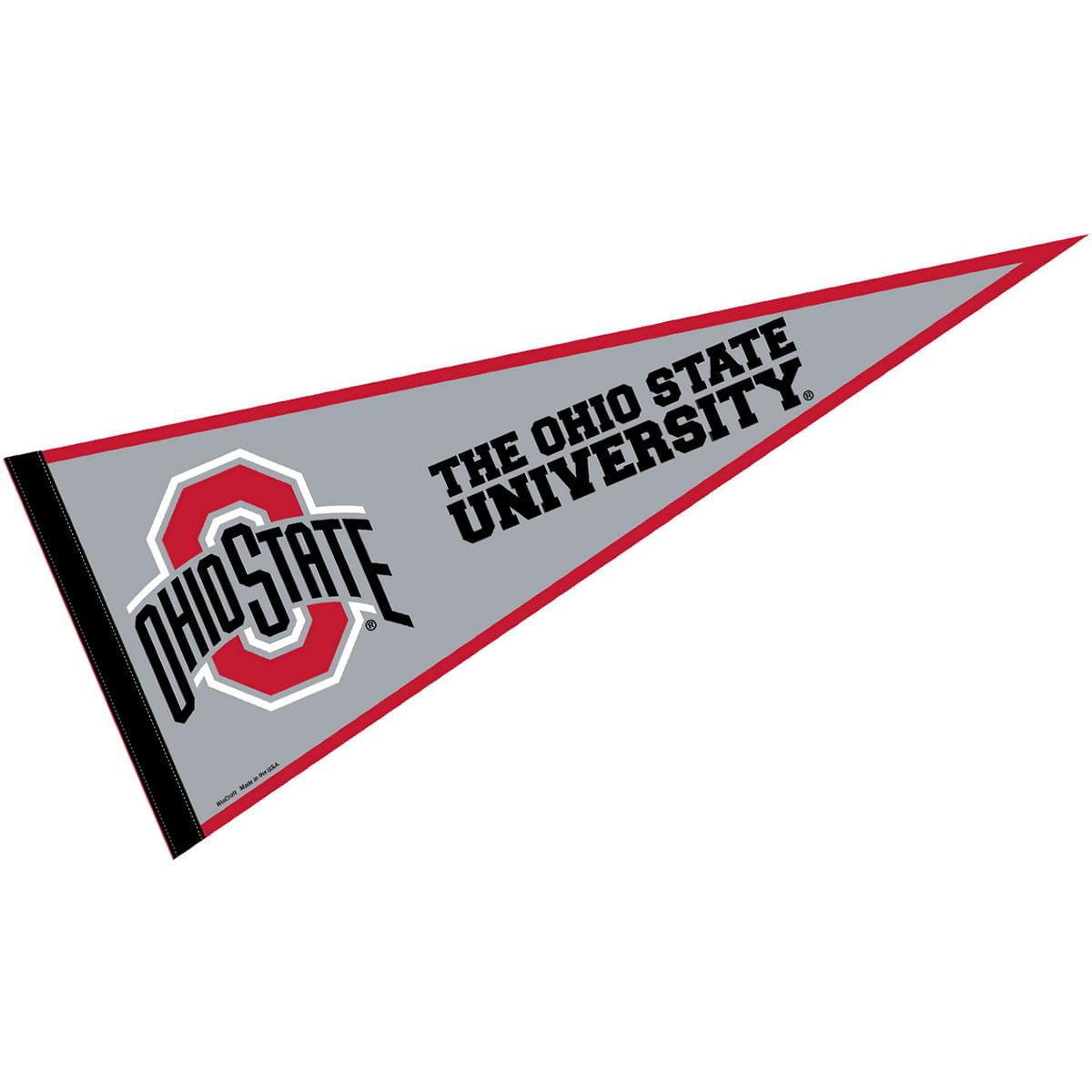 "Ohio State Buckeyes 12"" X 30"" Felt College Pennant"
