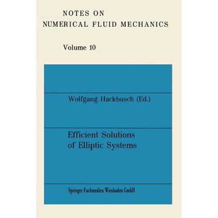 Efficient Solutions of Elliptic Systems : Proceedings of a Gamm-Seminar Kiel, January 27 to 29, 1984