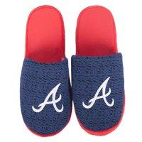 Atlanta Braves Knit Slide Slippers