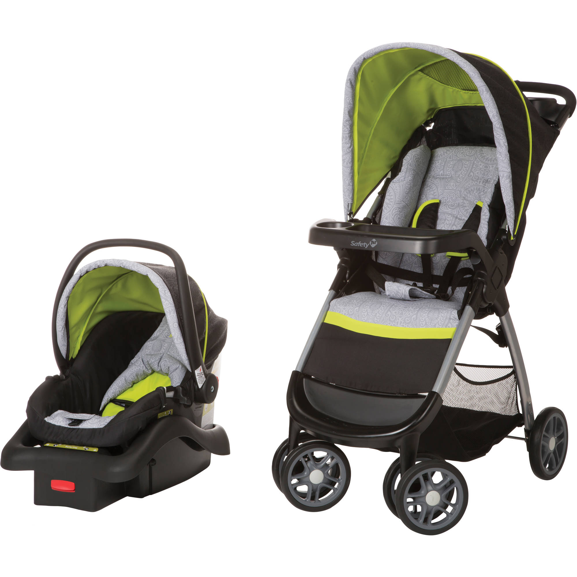 Safety 1st Amble Quad Travel System, Polynesian