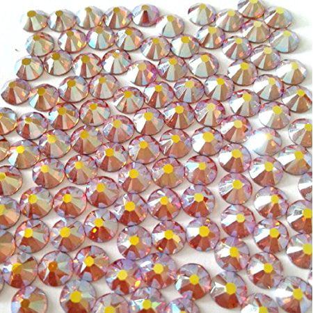 20ss Crystal Ab Swarovski Rhinestones - TOPAZ AB Crystal Rhinestones Flatback 144 SWAROVSKI 4.8mm 20ss ss20