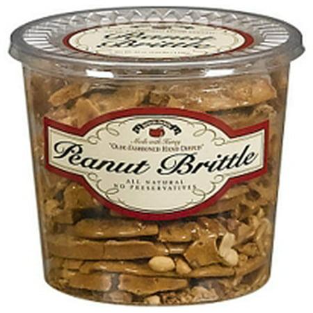 Brittle Candy - Brittle-Brittle Gourmet Peanut Brittle - 42oz